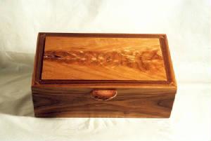 Walnut Cherry Jewelry Box